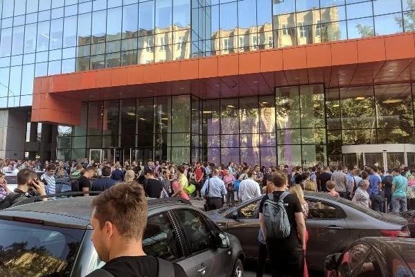 Евакуація в РФ