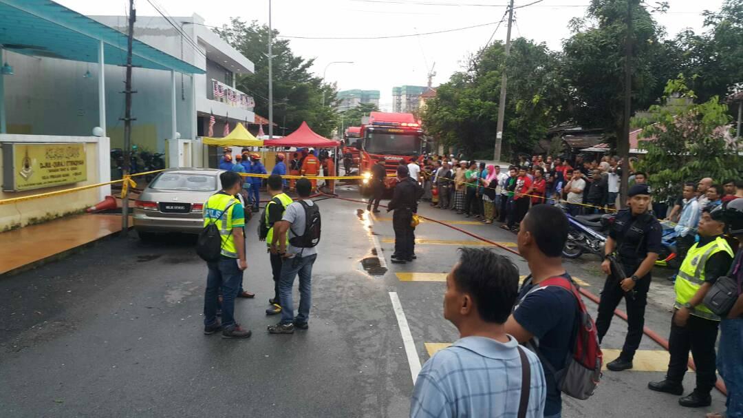 Малазія пожежа