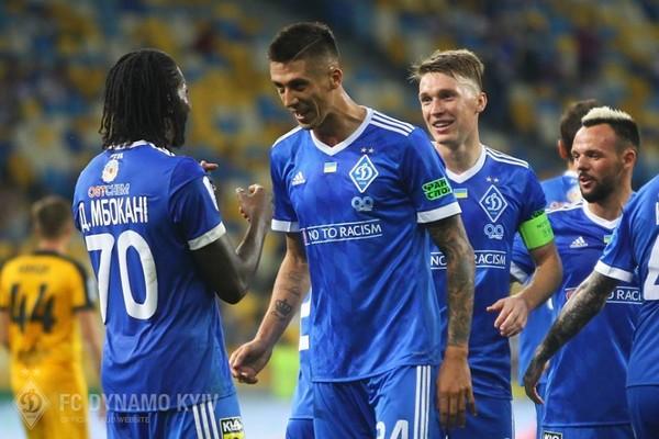 Киевское «Динамо» отыгралось ипобедило албанский «Скендербеу» вЛиге Европы