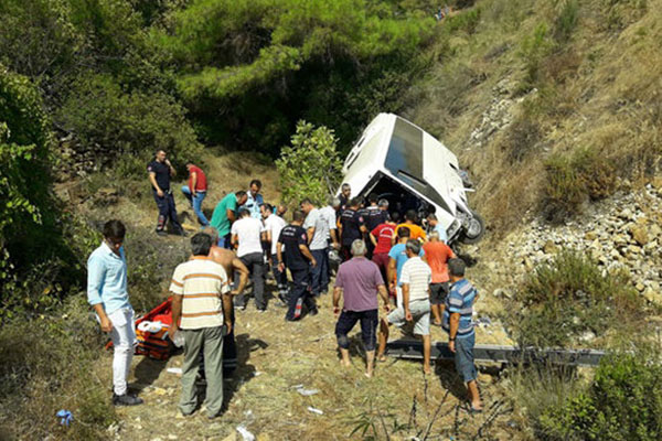 Жертвами ДТП сучастием автобуса вТурции стали 4  человека