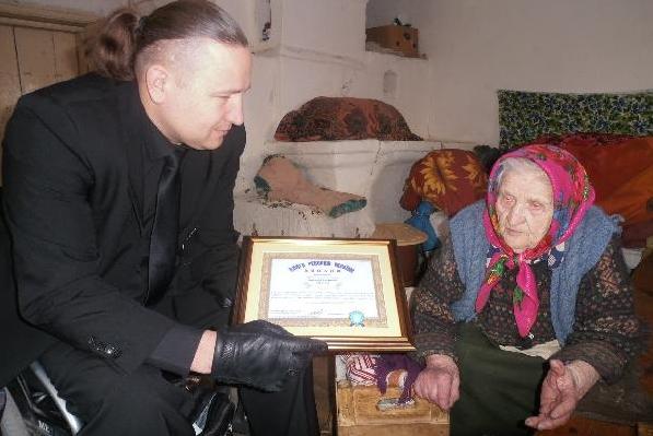 Жителька Чернігівщині претендує названня найстаршої людини напланеті