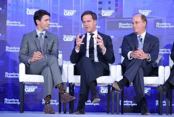 Прем'єр Канади вразив політиків уНью-Йорку шкарпетками зЧубаккою