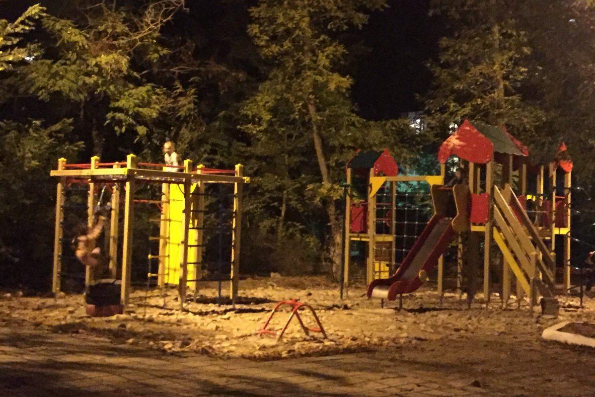 Детские площадки русские горки