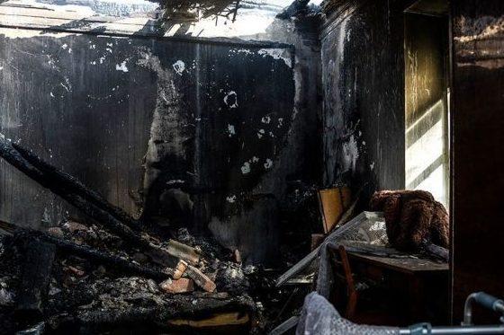 Обгорілий дім
