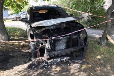 Авто після вибуху