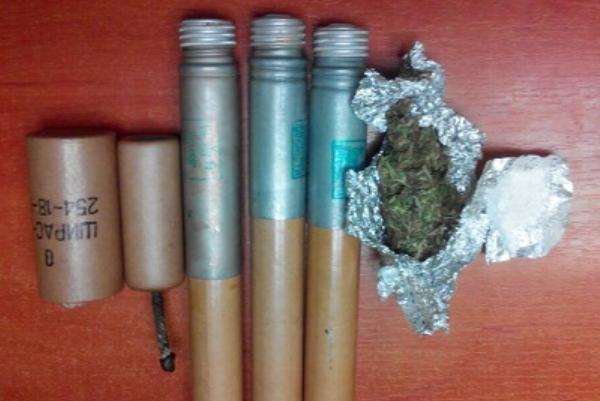 Настанції «Деміївська» уКиєві учоловіка знайшли ракети і наркотики