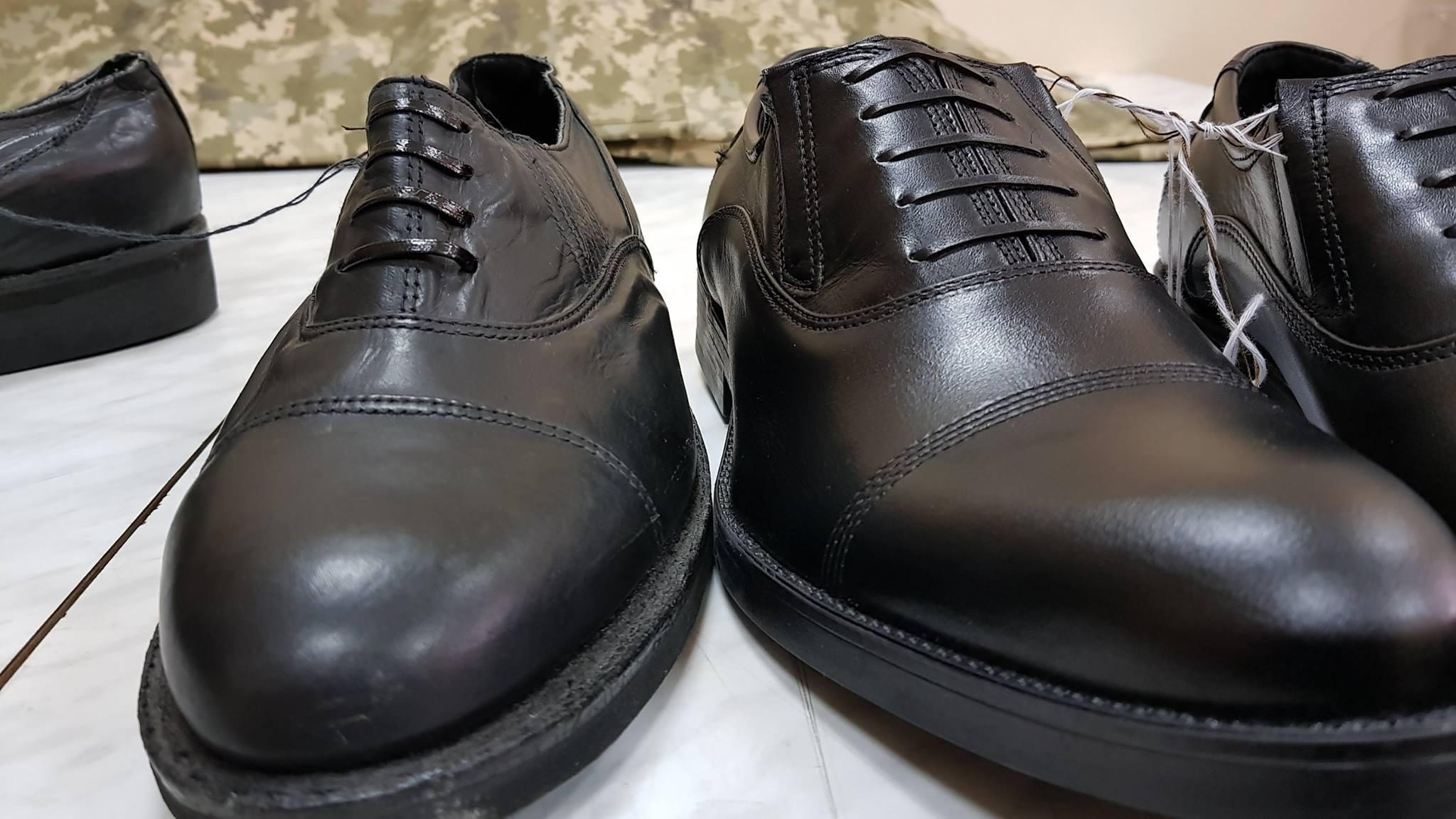 военные туфли нового образца фото них