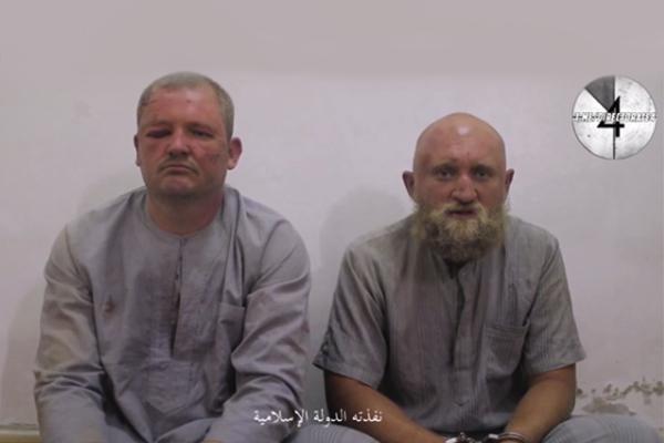Боевики ИГИЛ опубликовали запись взятых вплен вСирии русских солдат