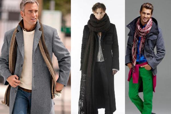 e97289438bb Мода 2017  какие мужские шарфы в тренде этой осенью