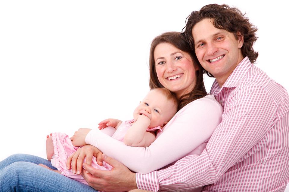 Посмішка щасливої родини