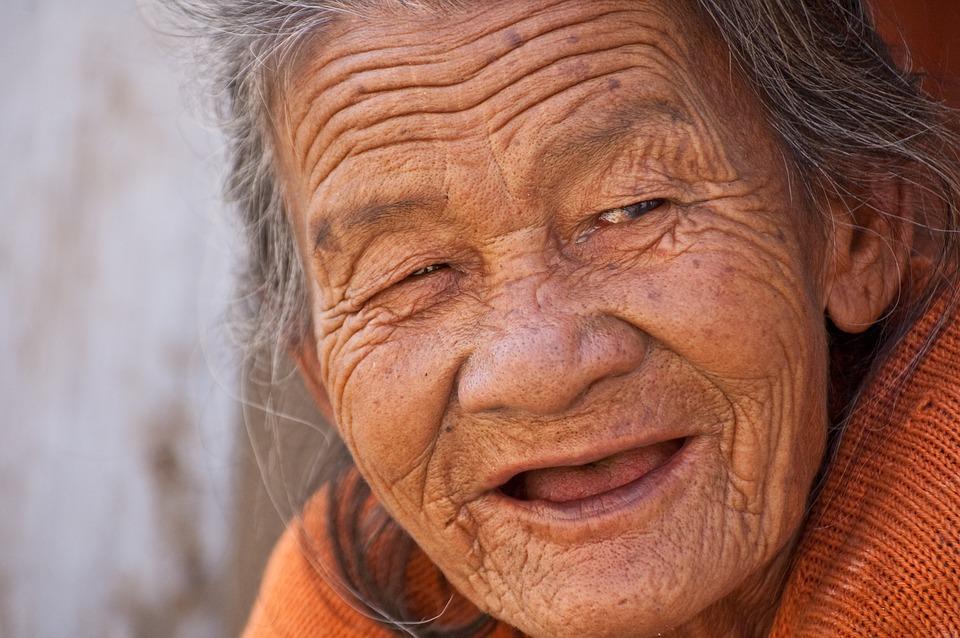 Посмішка бабусі