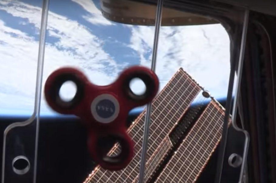 NASA показало, якастронавти закрутили спінер укосмосі - відео