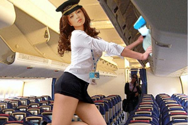 Реальная стюардесса арабских авиалиний порно видео