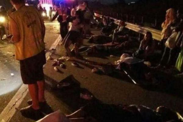 Восемь человек погибли и33 пострадали вавтобусной трагедии вМалайзии