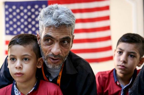 Біженці у США