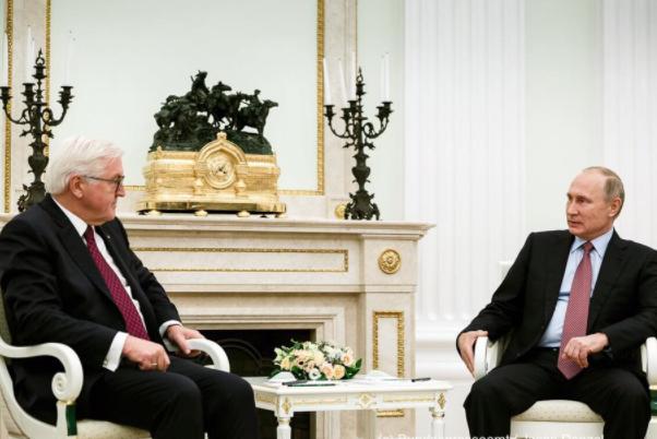 Пропагандисты приписали Штайнмайеру слова о«воссоединении Крыма сРоссией»
