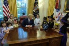 трамп хелловін діти