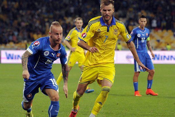 Товарищеский матч. Украина— Словакия 2:1