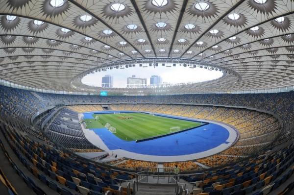 Стадион «Олимпийский» вКиеве починят  кфиналу Лиги чемпионов