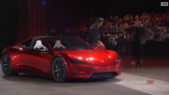Tesla Roadster. Новый флагман компании