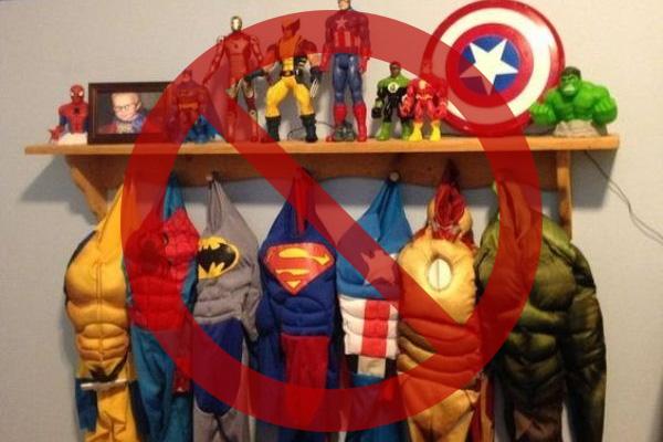 Водном издетсадов Братска запретили наНовый год костюмы западных суперменов