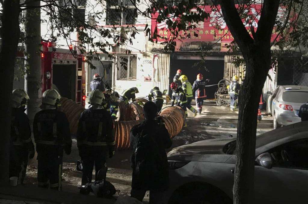 При пожаре вКитайской республике погибли 19 человек