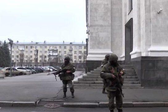 Бойовики в ЛНР