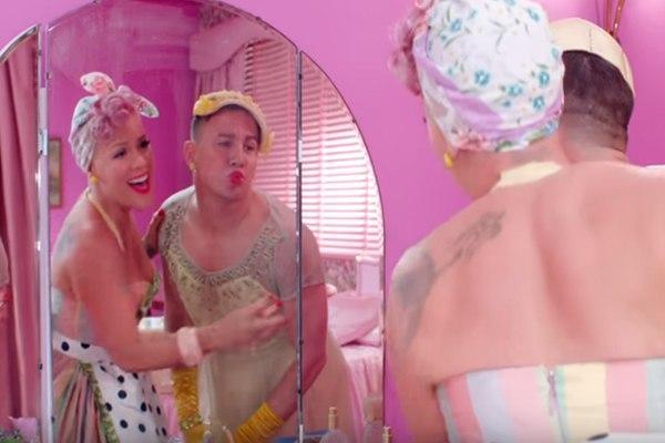 Ченнинг Татум надел платье в клипе Пинк