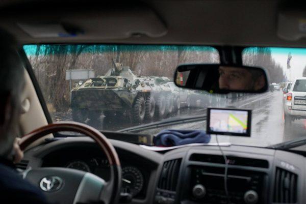 Ситуація вЛуганську: до«лігва» Плотницького підігнали БТРи