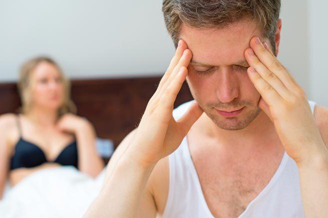 Мужчина потерял зрение после очень энергичного секса