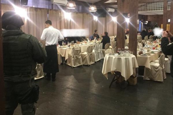 ВКиеве накрыли крупную сходку «авторитетов» соружием