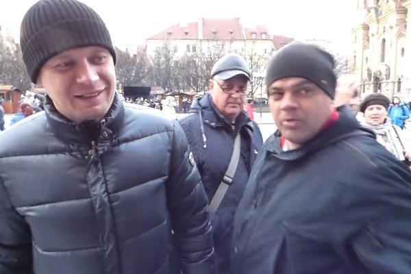 россияне напали на украинцев