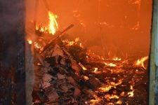 пожар в николаеве