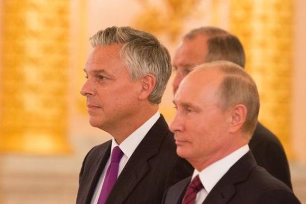 Джон Хантсман з Путіним