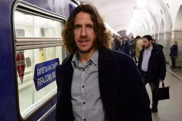 Испанского футболиста Пуйоля атаковали фаллоимитатором в российской столице
