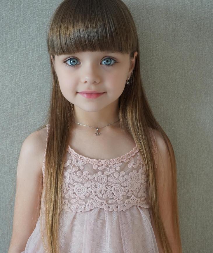 СМИ выбрали самую красивую девочку в мире  2