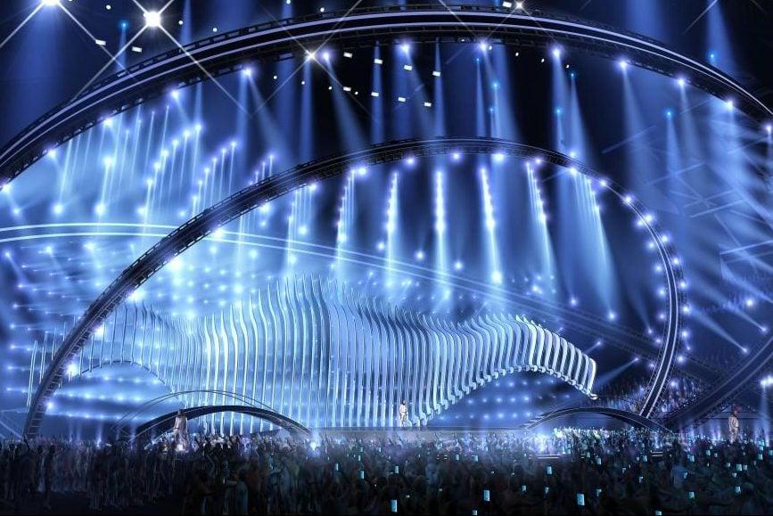 Сцена Євробачення 2018