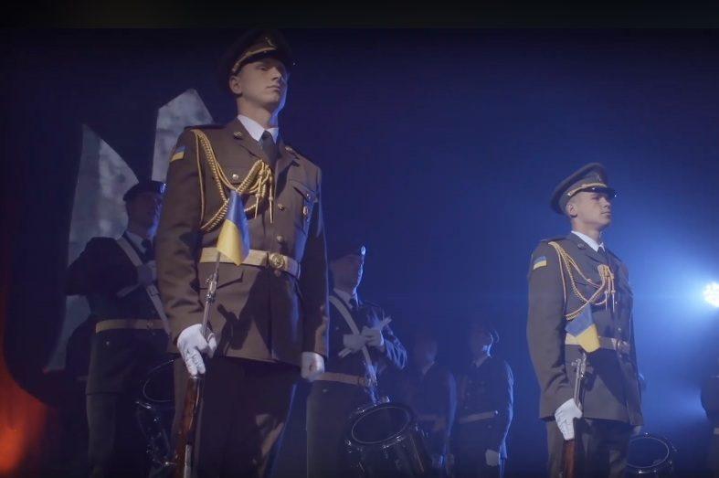 Олег Скрипка презентовал «Марш новейшей Армии»