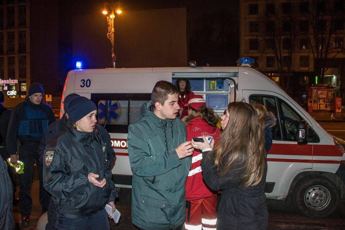 Вцентре украинской столицы работники пиццерии избили клиентов, фото ивидео