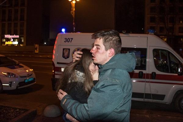 Работники  пиццерии вКиеве избили гостей