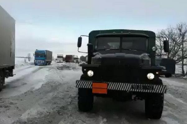 Движение потрассе Киев-Одесса возобновлено