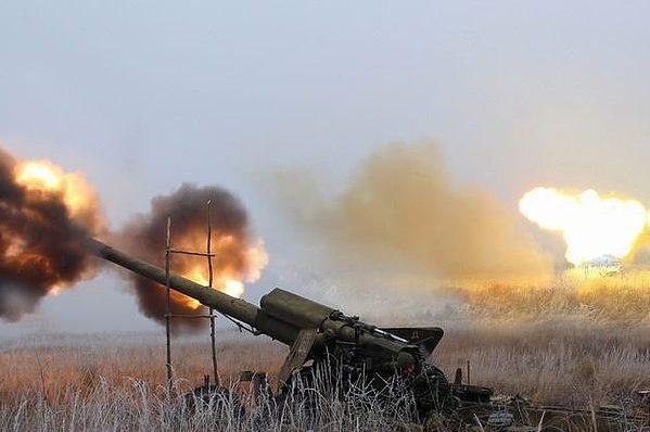 обстрелы украины