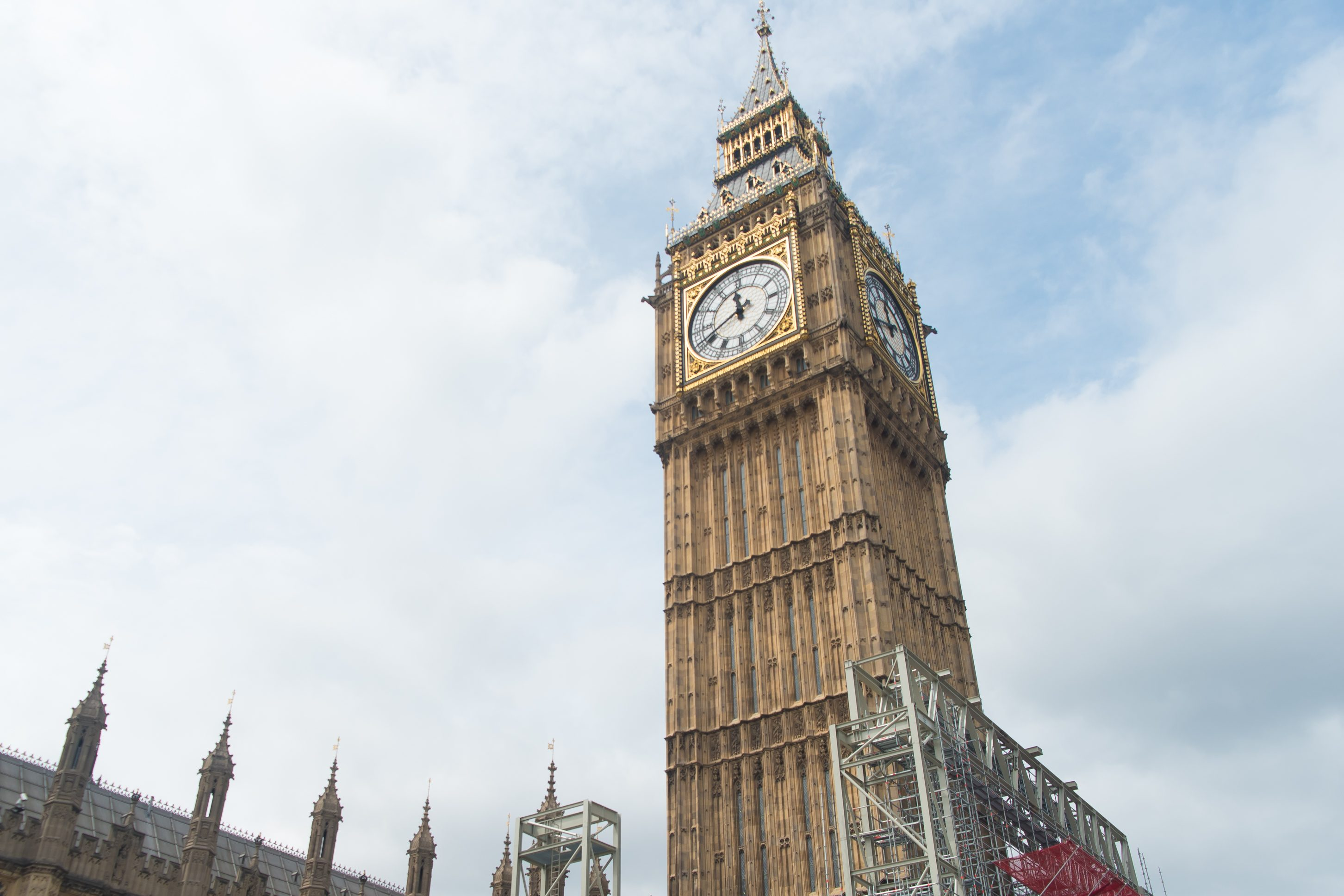 Лондонский Биг-Бен будет работать нановогодние праздники