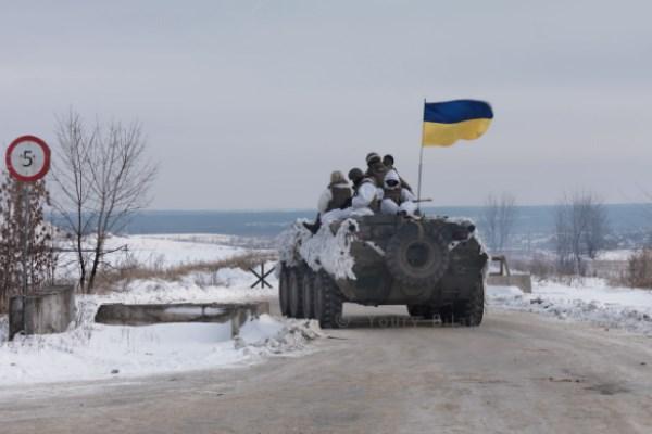 Невзирая нарождественское перемирие, боевики продолжают обстрелы позиций ВСУ