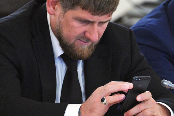 УПутіна прокоментував блокування акаунтів Кадирова вInstagram і Facebook