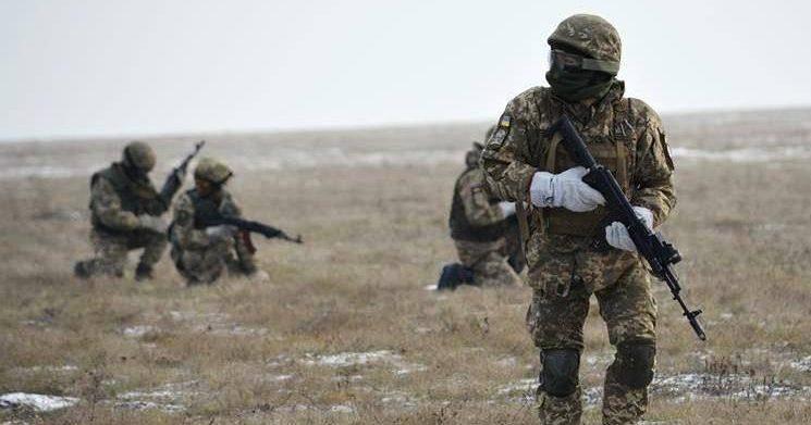 Доба у зоні бойових дій на Донбасі