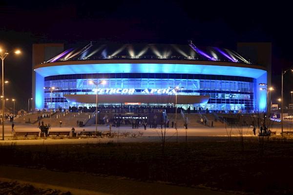 Во Владивостоке во время хоккейного матча загорелась «Фетисов-арена»