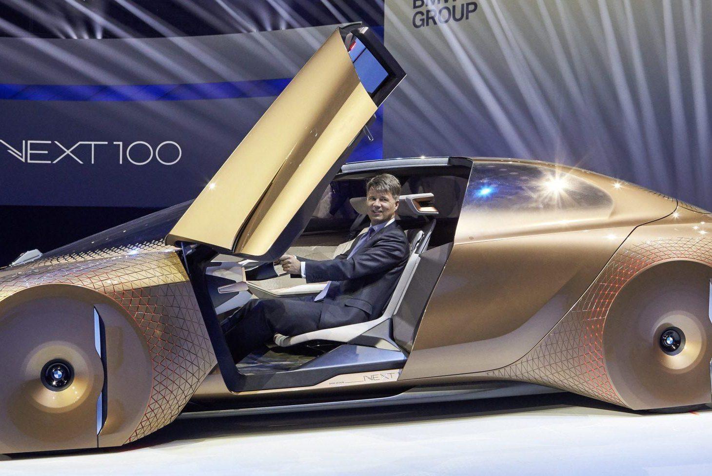 Электрокар iNext: в БМВ хотят сделать конкурента Tesla