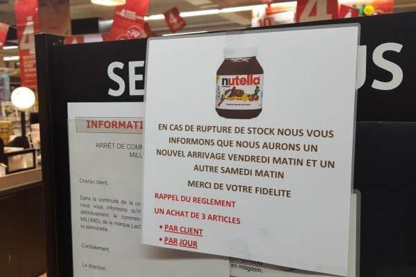 УФранції знижки наNutella спричинили масові сутички всупермаркетах