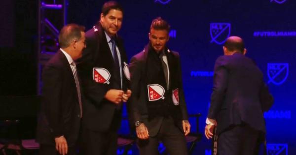 Созданный Бекхэмом клуб изМайами официально включен всостав MLS